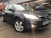 USED 2008 08 FORD FOCUS 1.6 STYLE 5d 100 BHP AIR CON, LOW MILEAGE, CAMBELT CHANGED 2014!