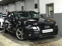 2011 AUDI A4 2.0 TDI S LINE BLACK EDITION 4d 168 BHP £11995.00