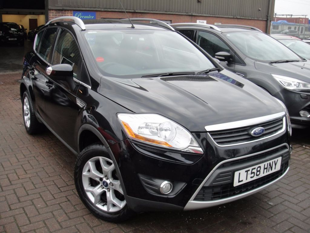 Used 2008 58 ford kuga 2 0 zetec tdci awd 5d 134 bhp country wide delivery arranged