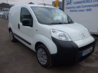 USED 2014 64 CITROEN NEMO 1.2 660 ENTERPRISE HDI 75 BHP, ELECTRIC WINDOWS AND MIRRORS, MULTIFUNCTIONAL STEERING WHEEL, REVERSE PARK ASSIST, 1 OWNER FROM NEW