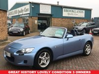 USED 2003 03 HONDA S 2000 2.0 16V 2d 236 BHP Stunning S2000.....240BHP of Convertible Fun!!! Two great sound systems, one under the bonnet, one that combines CD/Radio DAB Aux USB......