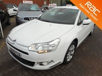 USED 2009 09 CITROEN C5 2.0 VTR PLUS HDI 4d 140 BHP HUGE SPEC AND JUST IN