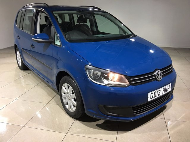 View our 2012 12 VOLKSWAGEN TOURAN 1.6 S TDI BLUEMOTION TECHNOLOGY 5d 103 BHP