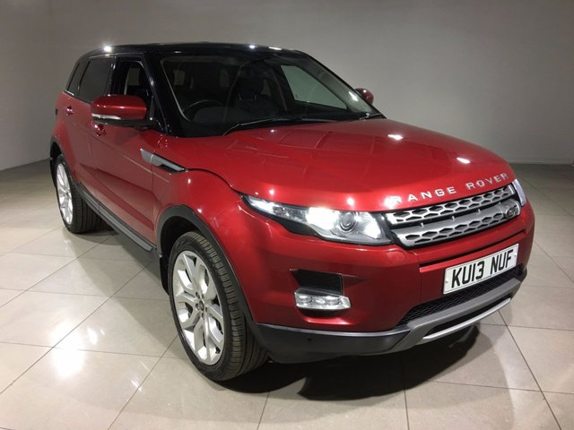 View our 2013 13 LAND ROVER RANGE ROVER EVOQUE 2.2 SD4 PURE TECH 5d 190 BHP