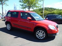 USED 2009 59 SKODA YETI 2.0 ELEGANCE TDI CR 5d 138 BHP FULL SERVICE HISTORY, FULL LEATHER, HEATED SEATS, 4 WHEEL DRIVE