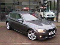 2012 BMW 1 SERIES 2.0 116D M SPORT 5d 114 BHP £10290.00