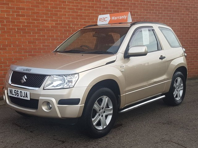 2006 56 SUZUKI GRAND VITARA 1.6 VVT PLUS 3d NEW SHAPE