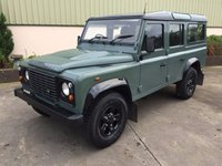 2009 LAND ROVER DEFENDER 110 2.4 TDCI 5 SEATER STATION WAGON £18950.00