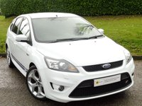 USED 2009 59 FORD FOCUS 2.5 ST-2 5d 223 BHP STUNNING WHITE 5 DOOR ST** FULL FORD HISTORY