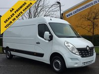 USED 2015 65 RENAULT MASTER 2.3 LM35 BUSINESS DCI 125 L3 LWB H2 Panel van Ex Lease Fwd Free UK Delivery