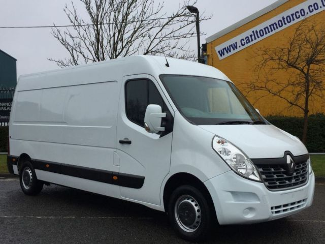 2015 65 RENAULT MASTER 2.3 LM35 BUSINESS DCI 125 L3 LWB H2 Panel van Ex Lease Fwd Free UK Delivery