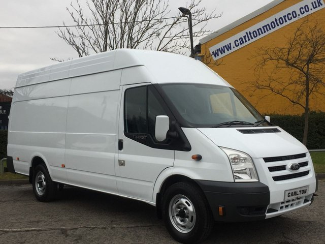2011 61 FORD TRANSIT 115 T350EL High Roof Jumbo Low Mileage Free UK Delivery SRW