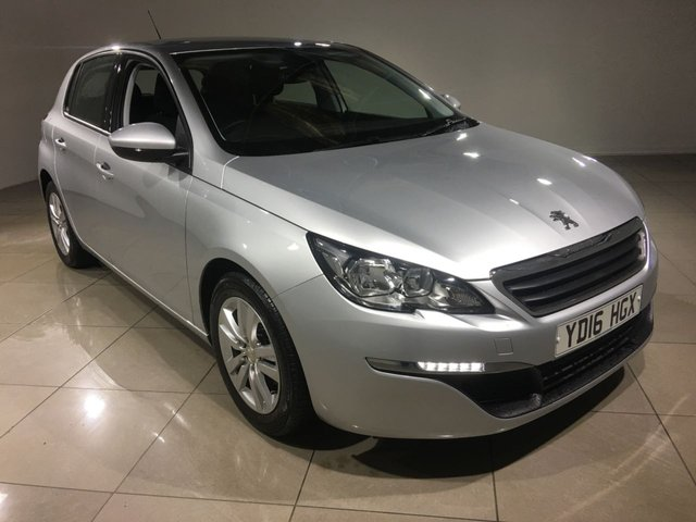 View our 2016 16 PEUGEOT 308 1.6 BLUE HDI S/S ACTIVE 5d 120 BHP