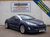 USED 2011 61 PEUGEOT RCZ 1.6 THP SPORT 2d 156 BHP Full Service History Low Mile 0% Deposit Finance Available