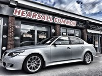 USED 2008 BMW 5 SERIES 2.0 520D M SPORT 4d 175 BHP BUY ME FROM £28.12 A WEEK!!!