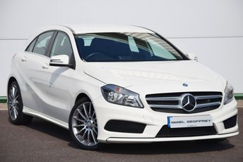 2013 MERCEDES-BENZ A-CLASS 1.5 A180 CDI BLUEEFFICIENCY AMG SPORT 5d 109 BHP £15450.00