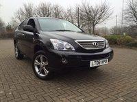 2008 LEXUS RX 3.3 400H SE CVT 5d AUTO 208 BHP £10000.00