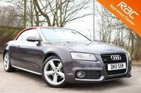 2011 AUDI A5 3.0 TDI QUATTRO S LINE 2d AUTO CONVERTIBLE 240 BHP £14490.00