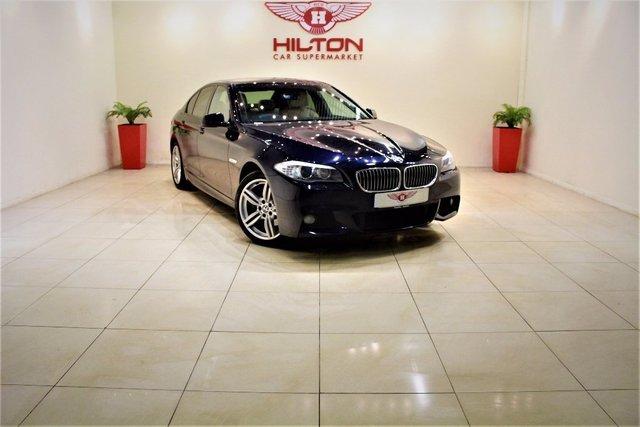 2011 11 BMW 5 SERIES 2.0 520d M Sport 4dr