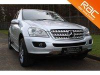 2008 MERCEDES-BENZ M CLASS 3.0 ML320 CDI SPORT 5d AUTO 222 BHP £10500.00
