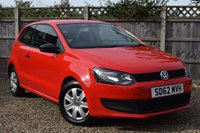 USED 2012 62 VOLKSWAGEN POLO 1.2 S 3d 60 BHP Free 12  month warranty