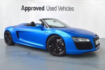 2014 AUDI R8 5.2 SPYDER V10 QUATTRO 2d AUTO 518 BHP £82950.00