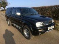 2006 MITSUBISHI L200 4WD TROJAN LWB DCB £4995.00