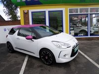 USED 2012 62 CITROEN DS3 1.6 E-HDI DSTYLE PLUS 3d 90 BHP 12 MONTHS MOT... 6 MONTHS WARRANTY... FULL SERVICE HISTORY