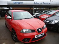 2007 SEAT IBIZA 1.4 FORMULA SPORT 3d 99 BHP £3999.00
