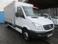 2013 MERCEDES-BENZ SPRINTER 519 CDi LWB CURTAINSIDE 190 BHP *ONLY 40000 MILES* £SOLD
