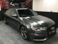 2014 AUDI A6 2.0 TDI S LINE BLACK EDITION 4d AUTO 175 BHP £19450.00