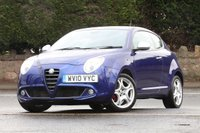 USED 2010 10 ALFA ROMEO MITO 1.4 VELOCE MULTIAIR 3d 135 BHP 1 Former Lady Keeper + SH
