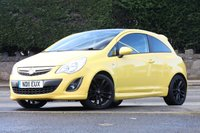 USED 2011 11 VAUXHALL CORSA 1.2 LIMITED EDITION 3d 83 BHP No advisories, great condition