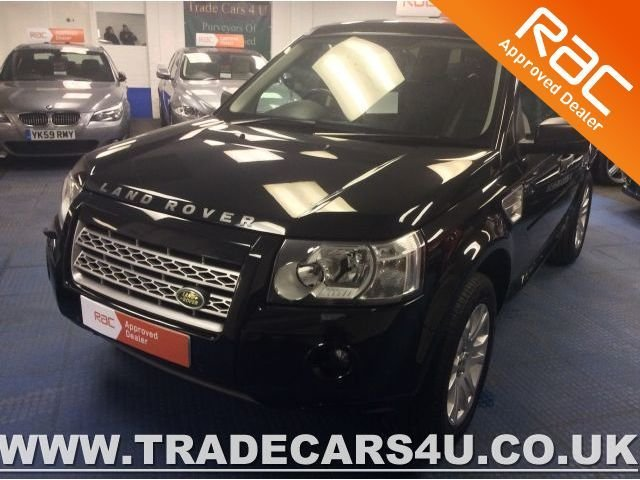 2008 58 LAND ROVER FREELANDER 2 2.2 TD4 HSE 6 SPEED