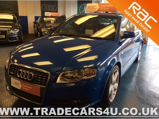 2006 54 AUDI A4 2.0 TFSI SPECIAL EDITION QUATTRO S LINE
