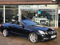 2011 MERCEDES-BENZ E CLASS 2.1 E220 CDI BLUEEFFICIENCY SPORT 2d AUTO 170 BHP £14750.00