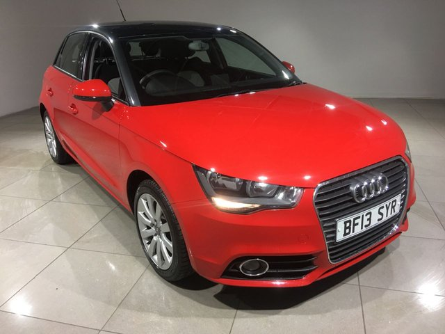 View our 2013 13 AUDI A1 1.4 SPORTBACK TFSI SPORT 5d 122 BHP