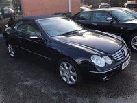 2005 MERCEDES-BENZ CLK 5.0 CLK500 ELEGANCE 2d AUTO 306 BHP £6495.00