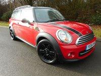 2011 MINI CLUBMAN 1.6 COOPER 5d 122 BHP £7995.00