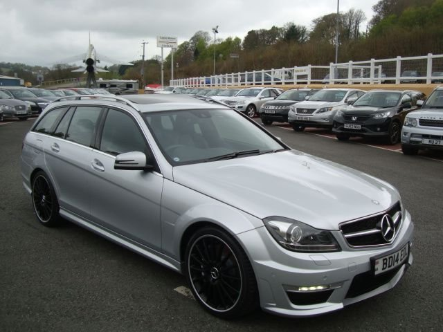 2014 14 MERCEDES-BENZ C CLASS 6.2 C63 AMG ESTATE Auto 457 BHP