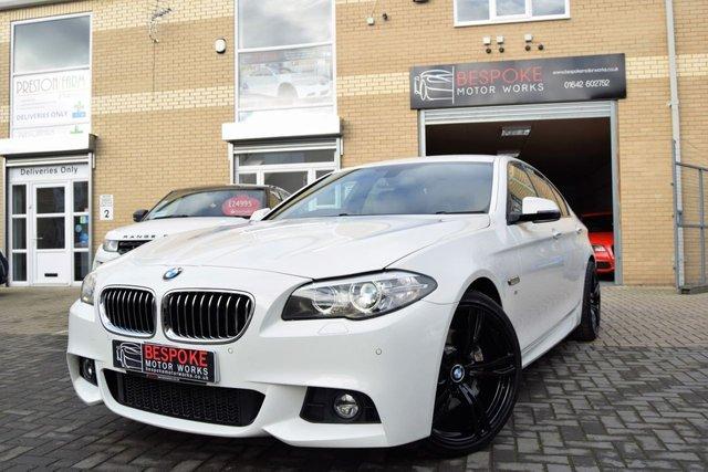 2013 63 BMW 5 SERIES 530D M SPORT SALOON 4d AUTOMATIC