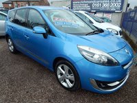 USED 2012 62 RENAULT SCENIC 1.5 GRAND DYNAMIQUE TOMTOM ENERGY DCI S/S 5d 110 BHP FULL SERVICE HISTORY, 7 SEATS