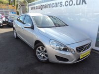 USED 2011 11 VOLVO S60 2.0 D3 ES 4d 161 BHP Two Owners Full Volvo History