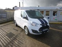 2013 FORD TRANSIT CUSTOM 2.2TDCi T290 LIMITED SWB Low Roof  125 BHP TAILGATE TWIN SIDE DOORS £10995.00