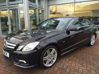 2011 MERCEDES-BENZ E CLASS 3.0 E350 CDI BLUEEFFICIENCY SPORT 2d AUTO 231 BHP £14500.00