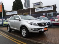 USED 2012 KIA SPORTAGE 1.6 1 5d  FULL HISTORY ~ CRUISE CONTROL ~ STOP/START ~ BLUETOOTH