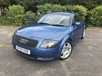 USED 2002 02 AUDI TT 1.8 QUATTRO 3d 221 BHP