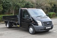 2012 FORD TRANSIT 2.2 T350 RWD 2d 153 BHP LWB DIESEL MANUAL DROPSIDE VAN  £7990.00
