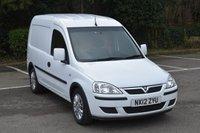 2012 VAUXHALL ASTRA 1.2 1700 SE CDTI 5d 73 BHP SWB DIESEL MANUAL CAR DERIVED VAN  £3190.00