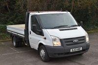 2013 FORD TRANSIT 2.2 T350 RWD 2d 124 BHP XLWB DIESEL MANUAL DROPSIDE VAN  £8290.00